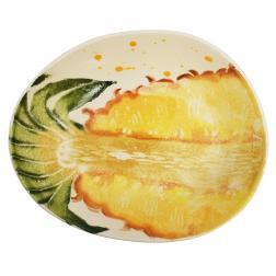 Овальная глубокая тарелка для супа