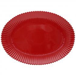 Блюдо красное Pearl