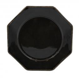 Тарелка для салата Costa Nova Luzia темно-серая 21 см