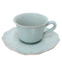 Чашки с блюдцем для чая, набор 6 шт. Impressions