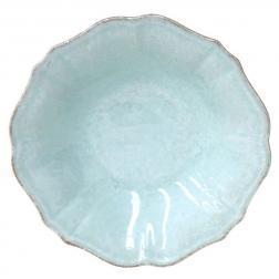 Тарелки для супа бирюзовые, набор 6 шт. Impressions