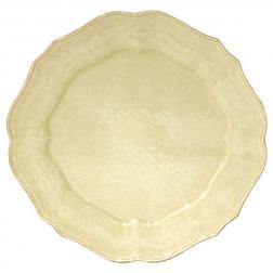 Желтая подставная тарелка Impressions