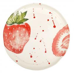 Тарелка обеденная керамическая