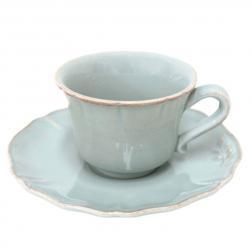 Чайная чашка с блюдцем из огнеупорной керамики Alentejo