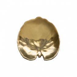 Тарелки десертные золотой лист Riviera, набор 6 шт.