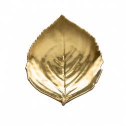 Тарелки для салата золотой лист Riviera, набор 6 шт.