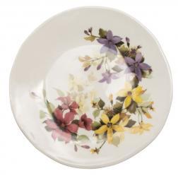 Тарелка для романтической сервировки «Цветочное настроение»