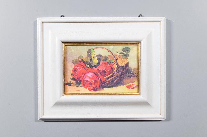 Репродукция картины Decor Toscana Красные розы 53×43 см  - фото