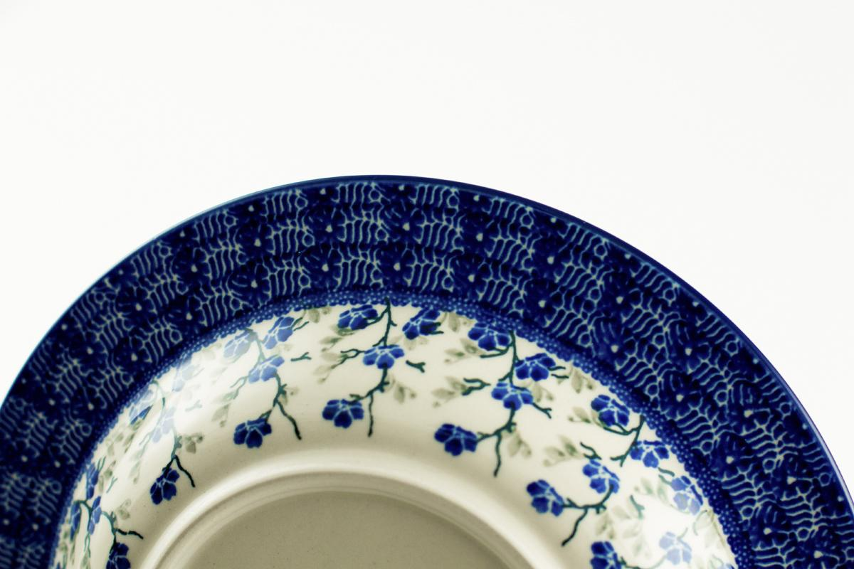 "Набор белых тарелок для супа с рисунком ""Летний ветерок"", 6 шт  - фото"