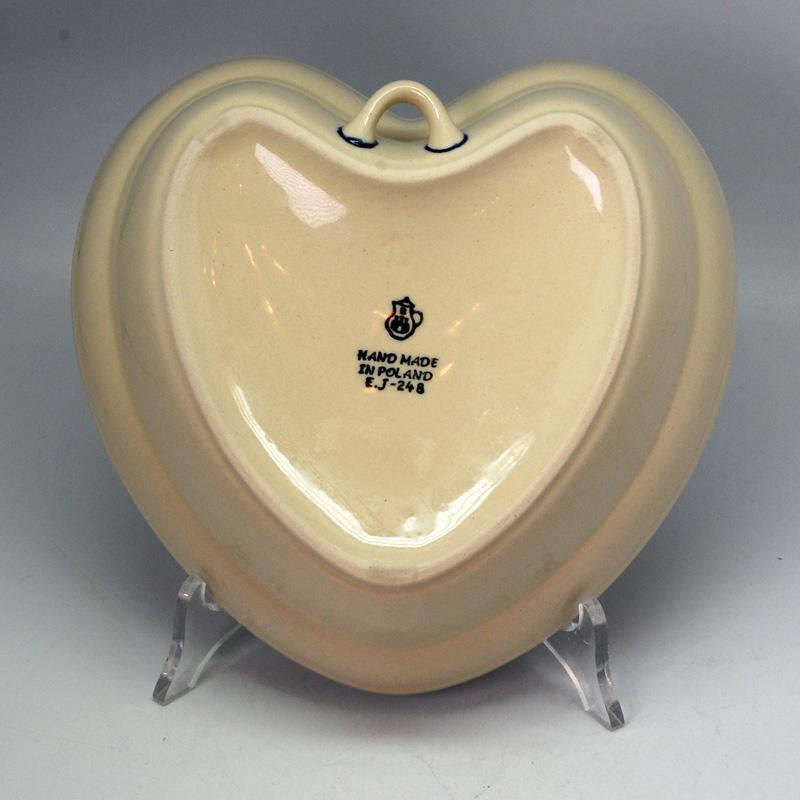 """Пиала-сердце из жаропрочной керамики """"Озерная свежесть""""  - фото"""