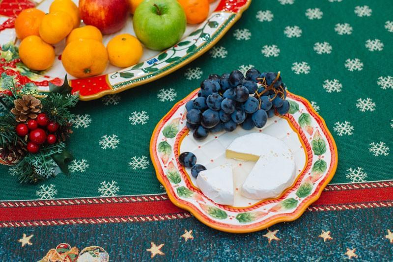 Тарелка новогодняя  - фото