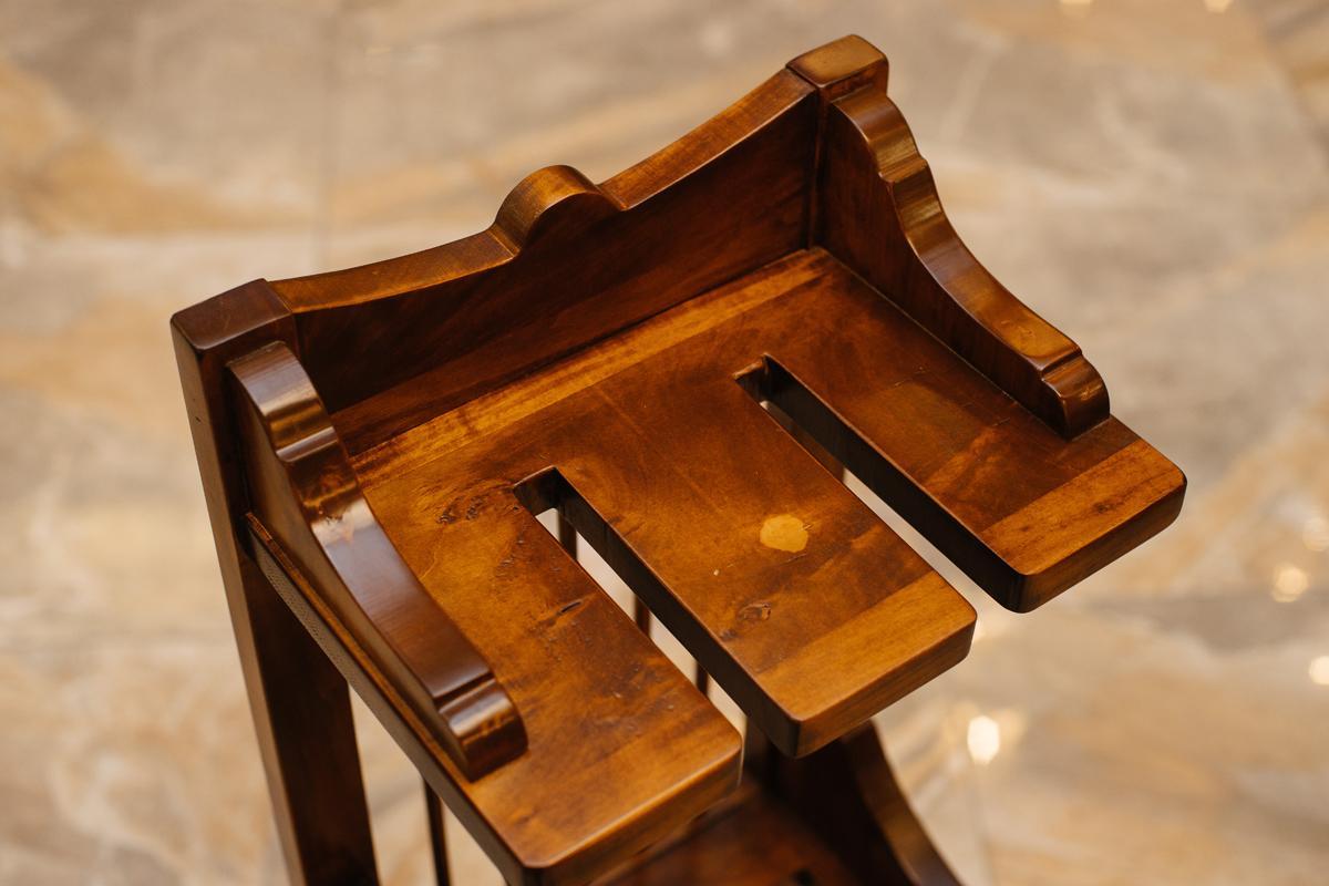 Кухонная полка из натурального дерева ручной работы Salaiolo  - фото