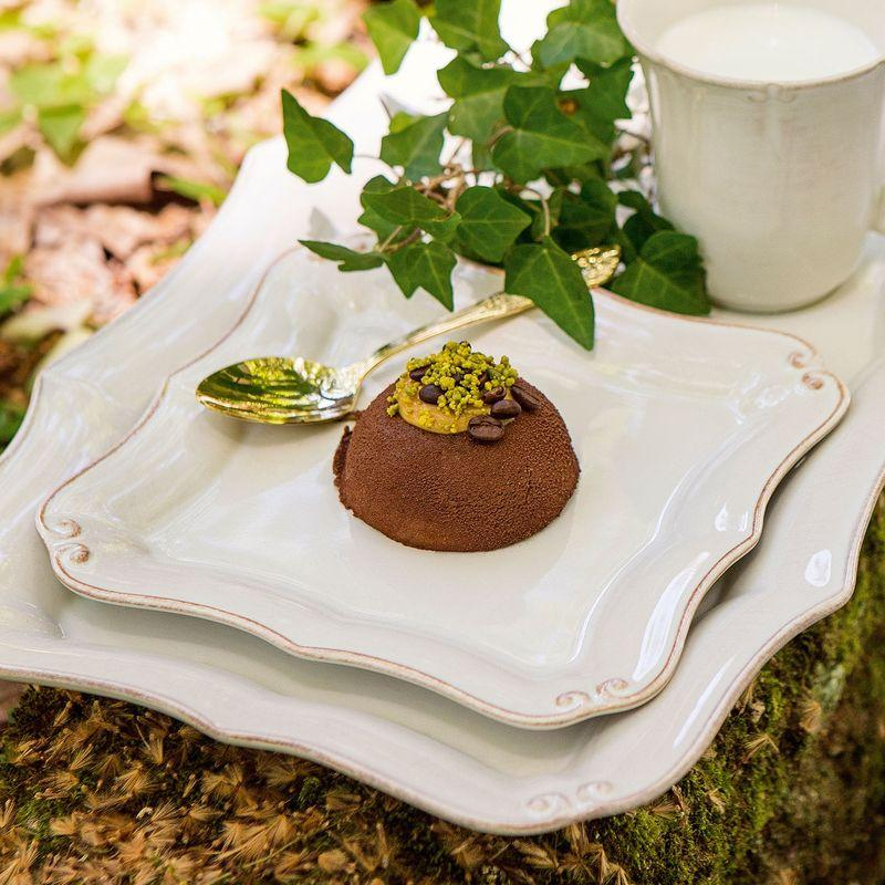 Набор из 6-ти десертных тарелок Barroco  - фото