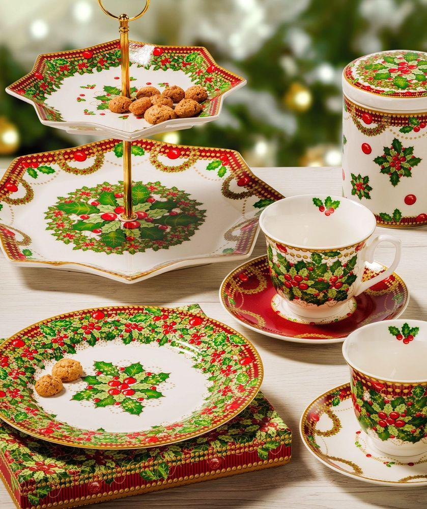Десертная тарелка для праздничной сервировки «Исполнение желаний»  - фото