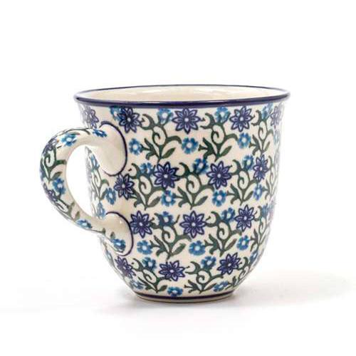 Чашка с цветочками  - фото