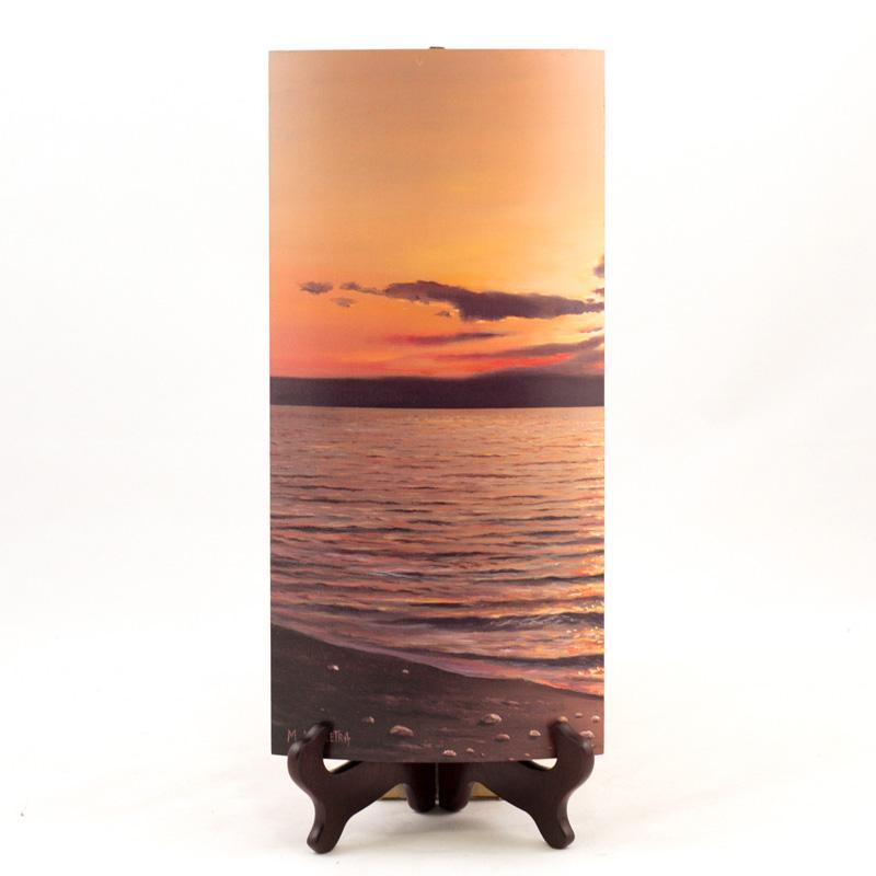 Декоративный диптих с принтованным изображением «Море»  - фото