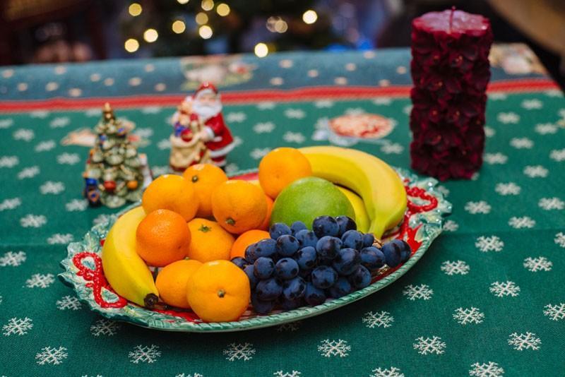 """Блюдо овальное """"Рождественский венок""""  - фото"""