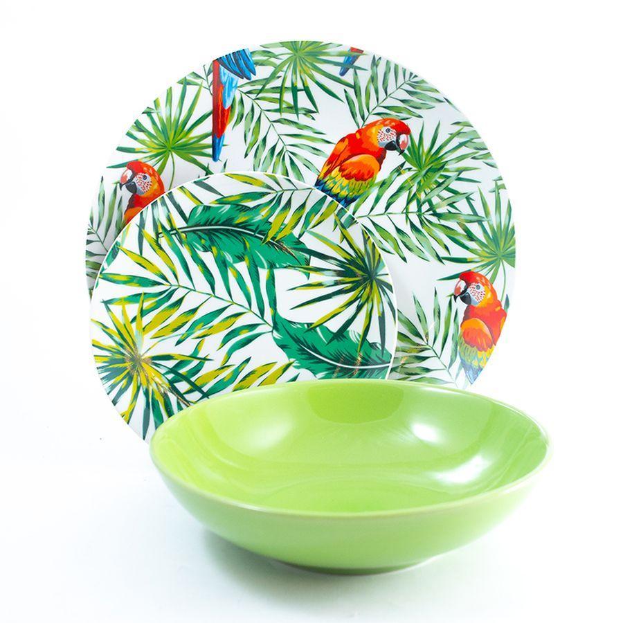 Сервиз столовый Villa D'este Parrot Jungle  - фото