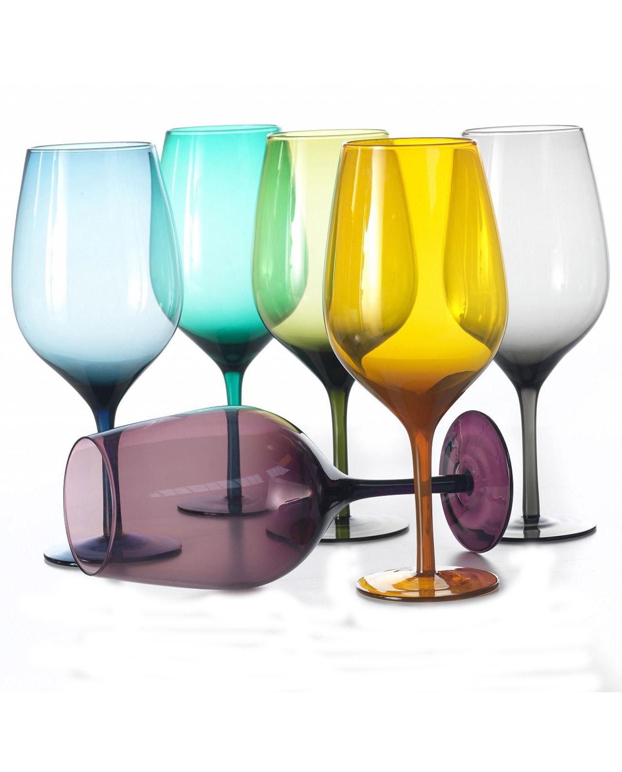 Набор бокалов для вина Villa d'Este 6 шт.   - фото