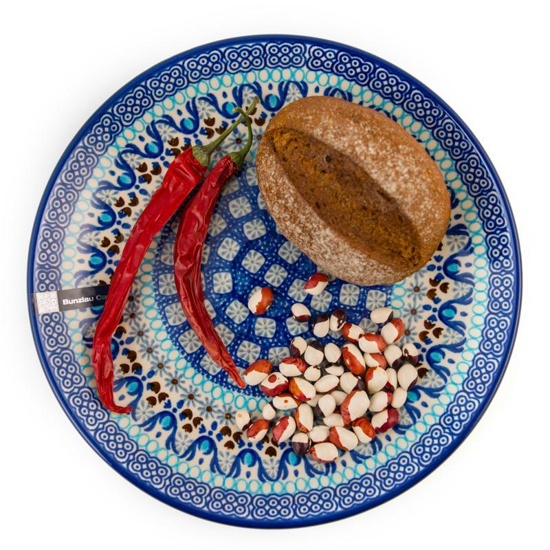 """Небольшие обеденные тарелки 6 шт из керамики """"Марракеш""""  - фото"""