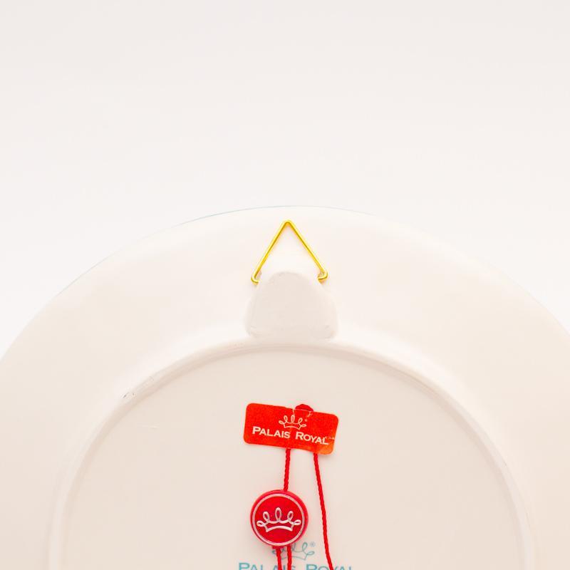 Тарелка настенная новогодняя  - фото