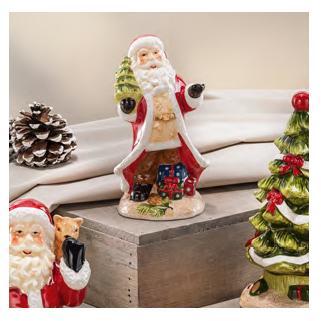 Дед Мороз с елочкой  - фото