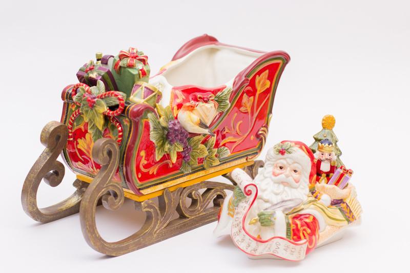 Бисквитник Дед Мороз  - фото