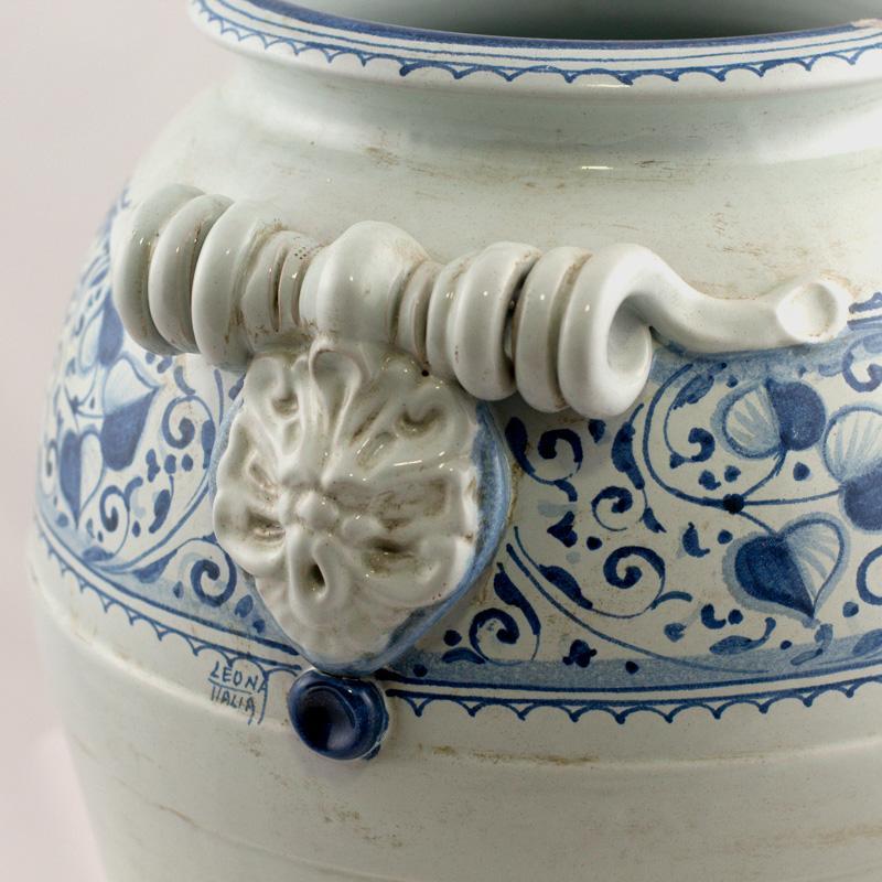 Зонтовница керамическая ручной росписи  - фото