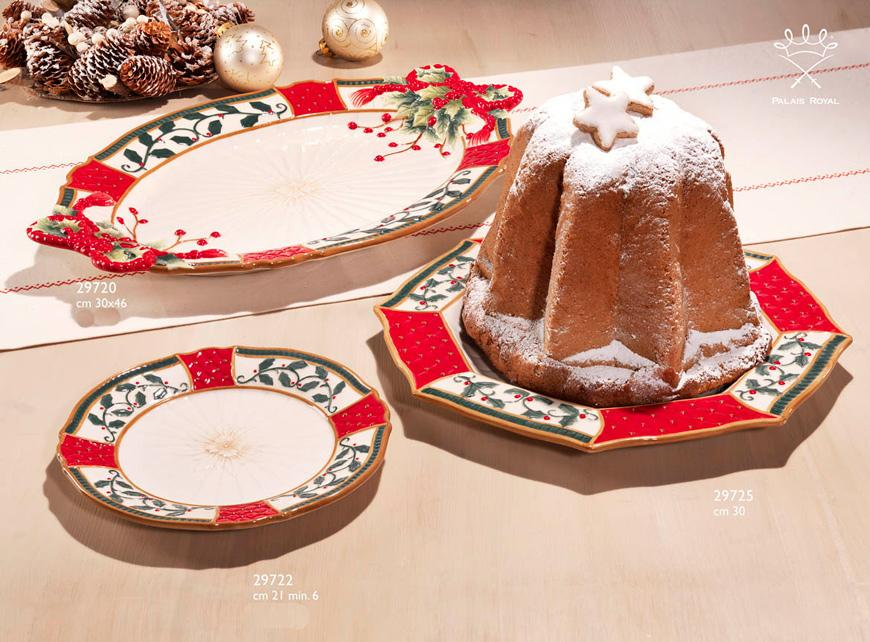 """Блюдо восьмиугольное """"Рождественский венок""""  - фото"""