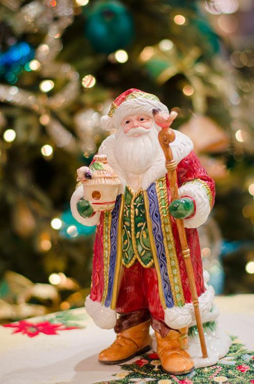 Большая статуэтка Дед Мороз  - фото