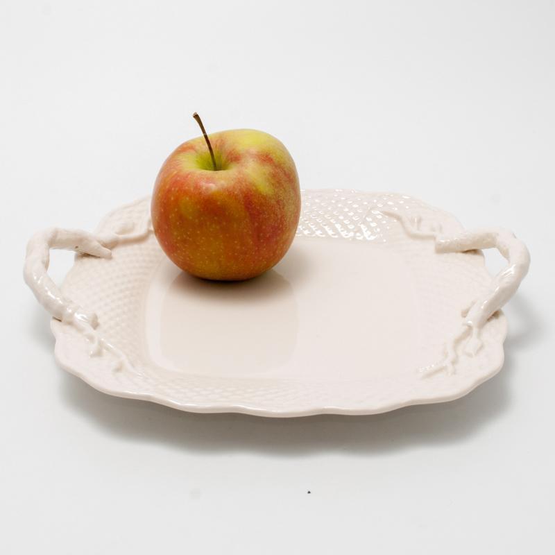 Тарелка квадратная  - фото