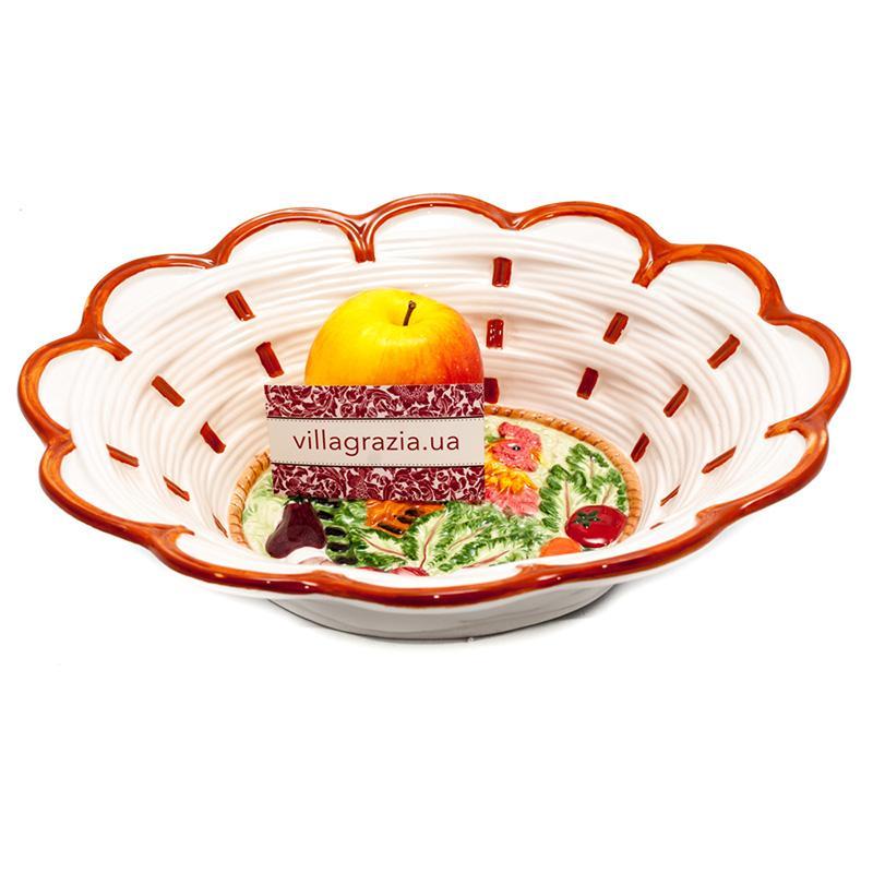 Глубокое блюдо Петух  - фото