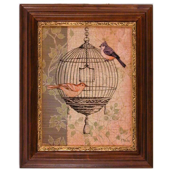 "Набор из 2-х картин ""Птицы""  - фото"