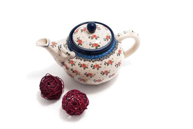 Чайник керамический  - фото