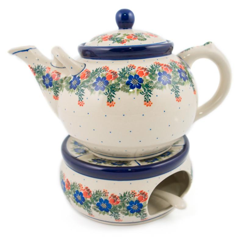 Горелка с чайником  - фото