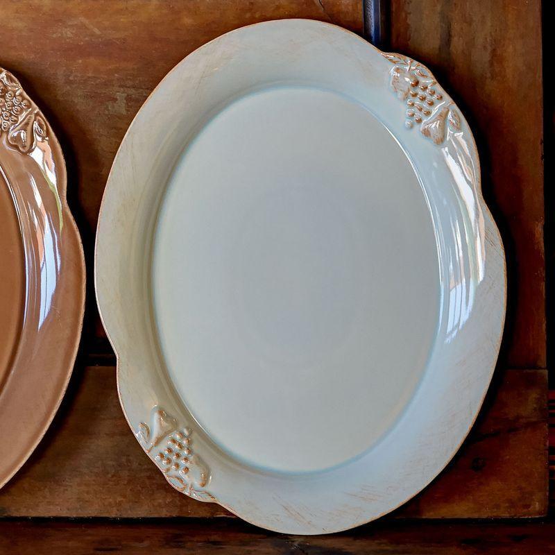 Большое блюдо овальное Mediterranea  - фото