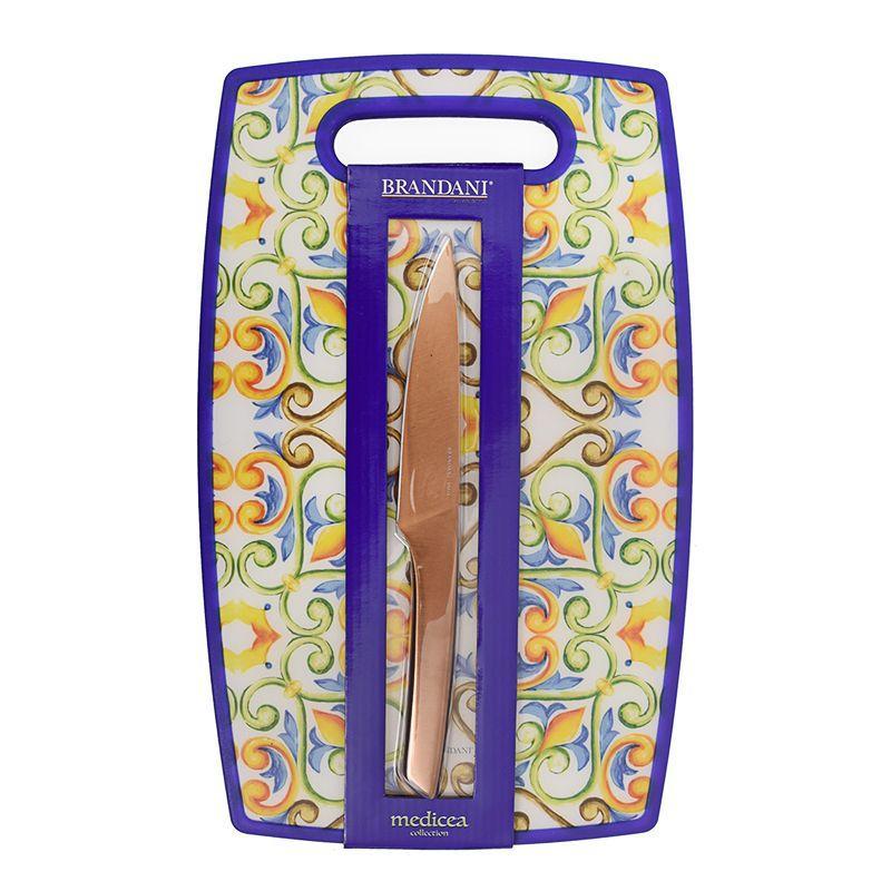 Доска разделочная с ножом Medicea  - фото