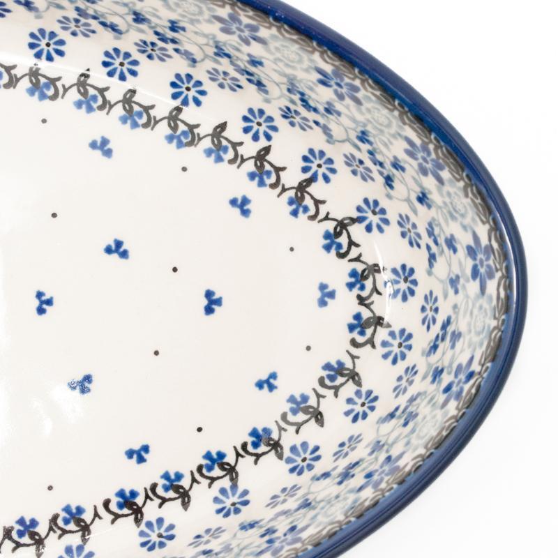 """Блюдо для запекания керамическое """"Полевые цветы""""  - фото"""