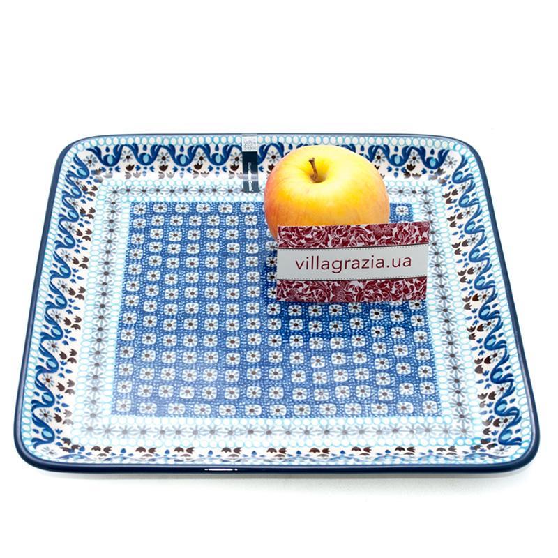 Блюдо квадратное для закусок  - фото