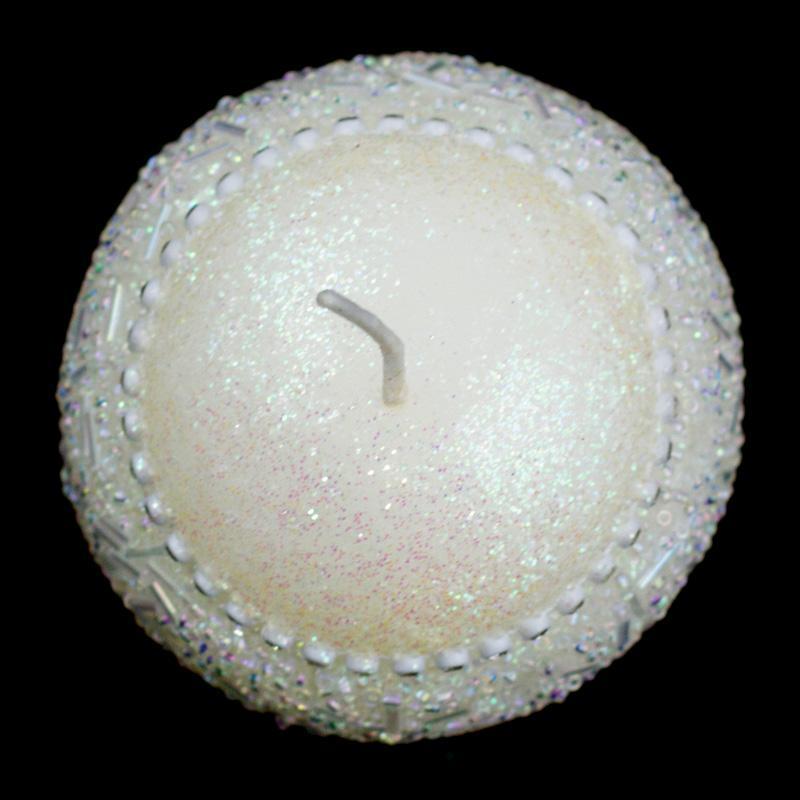 Свеча - алмаз  - фото