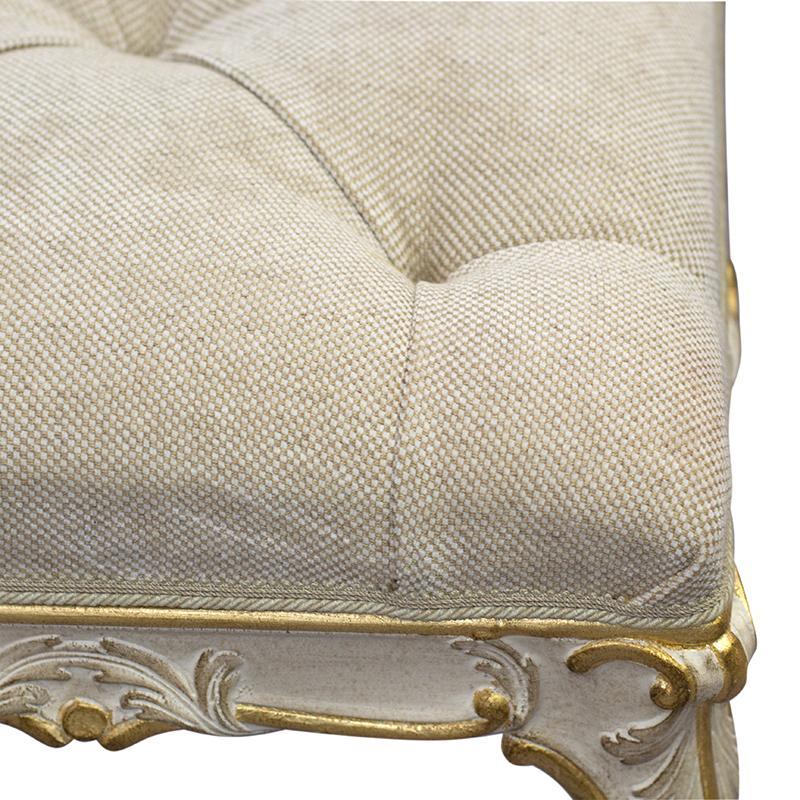 Изысканная банкетка в стиле рококо Grifoni Silvano  - фото