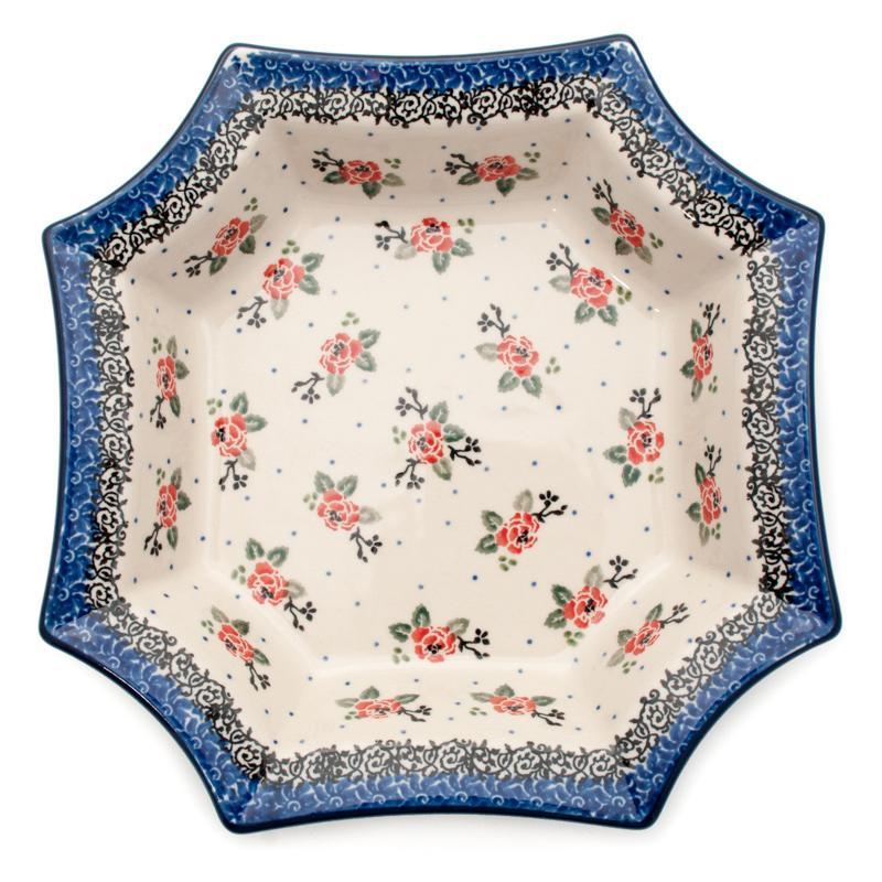 Салатник восьмиугольный  - фото