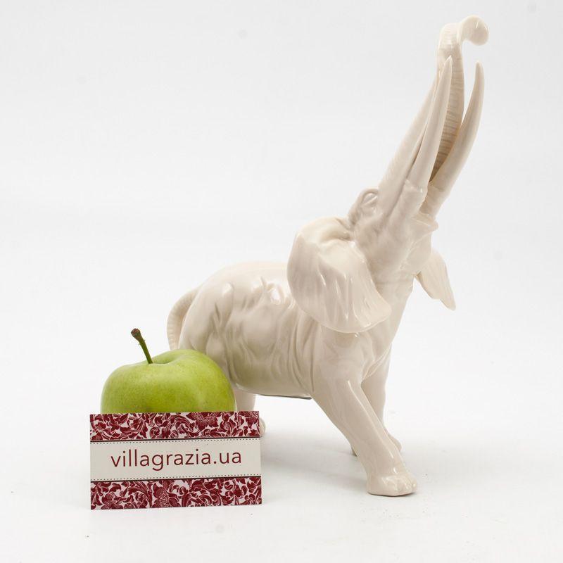 Слон керамический  - фото