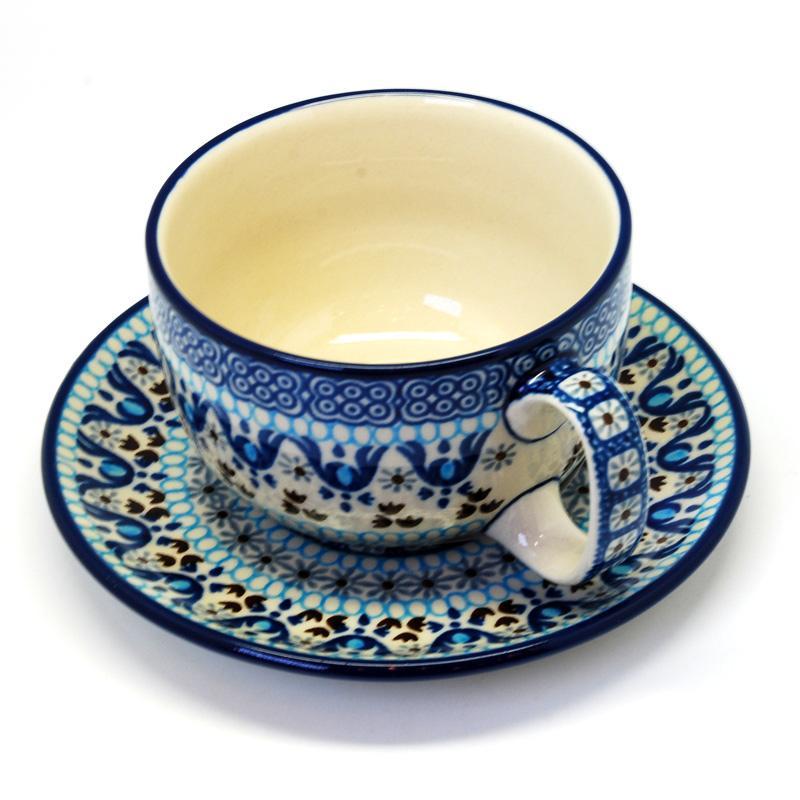 Чашка с блюдцем Мараккеш  - фото