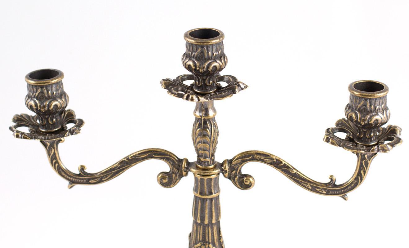 Канделябр на 3 свечи  - фото