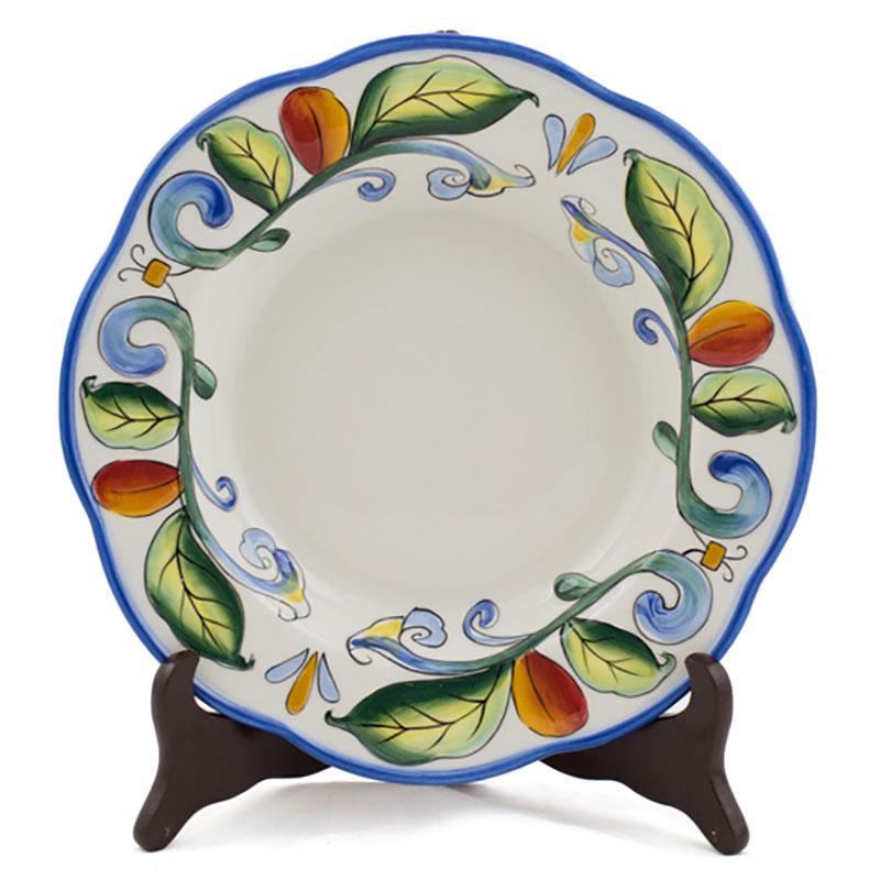 Тарелка мелкая  - фото
