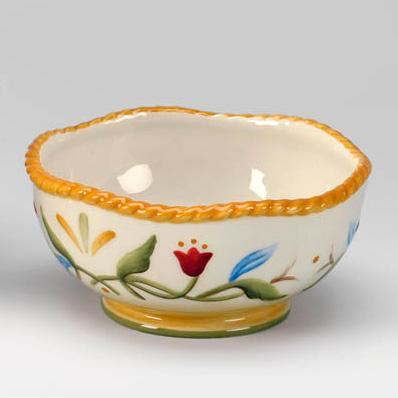 Керамическая пиала Тюльпаны  - фото