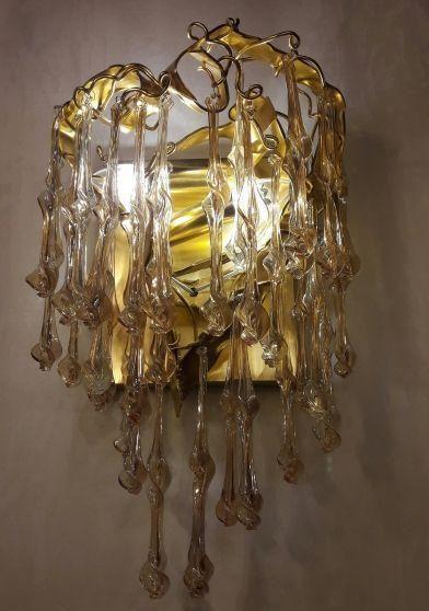 Бра из муранского стекла Sculpture  - фото