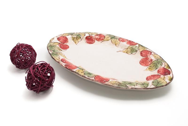 Блюдо овальное Frutta, Италия  - фото