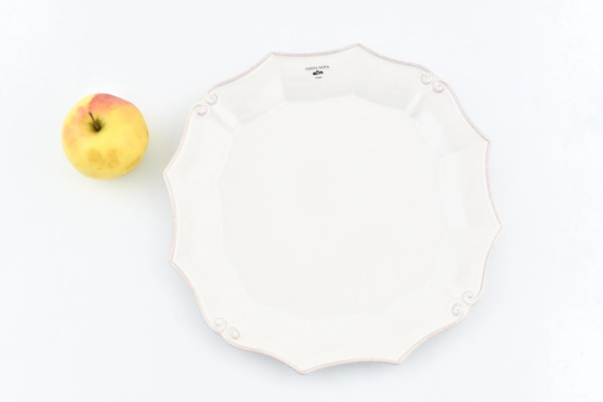 Блюдо белое Barroco  - фото